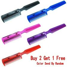 Professional Barber Comb Razor Shaving Hair Cut Sharper Tamer Tool Random Color
