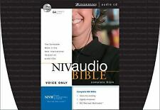 NIV Audio Bible Voice Only CD by Zondervan