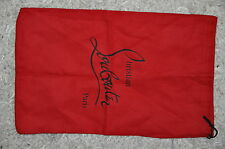 Authentic New Dust Bag for Christian Louboutin Shoes, 14 x 9 inches