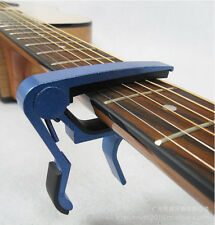 The Actual Metal Spring Trigger Guitar Capo for Electric & Acoustic Guitars