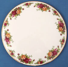 Vintage Royal Albert Old Country Roses Pastel Gateau placa Hornear teaparty Boda
