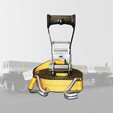 """ERGO Handle  2"""" x 30' Ratchet Tie Down Straps 10000 lbs. DJ-Hook on Sale!!!!!!!!"""