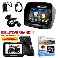 "Motorrad Navigationsgerät 4,3"" Zoll GPS Navigation Bluetooth Wasserdicht Bike"