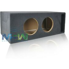 """CUSTOM SLOT-PORTED MDF ENCLOSURE BOX for (2) 8"""" SUBWOOFERS 1.5 ft^3 TUNED @ 34Hz"""
