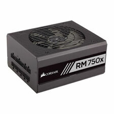Corsair RMx SeriesTM RM750x - 750 Watt 80 PLUS Gold Certified Fully Modular PSU.