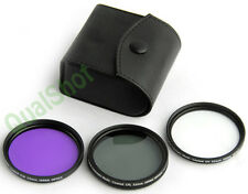 CPL UV FD FILTER KIT for 52mm Nikon Pentax 18-55mm Lens