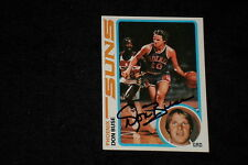 DON BUSE 1978-79 TOPPS SIGNED AUTOGRAPHED CARD #35 SUNS