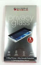 ZAGG - InvisibleShield Privacy GLASS Samsung Galaxy Note 4 Screen Protector