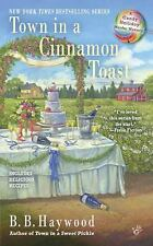 Town in a Cinnamon Toast (Candy Holliday Murder Mystery)-ExLibrary
