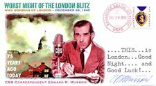 """COVERSCAPE computer designed 75th worst night of the """"London Blitz"""" event cover"""