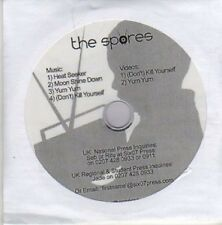 (AZ204) The Spores, Heat Seeker - DJ CD