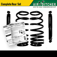 98-02 Lincoln Navigator 2WD Rear Air to Shock & Springs Conversion Kit Pair x2