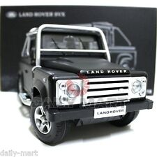1/18 Scale Land Rover SVX Matte Black DieCast Toy Car Model