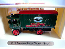 MATCHBOX GREAT BEERS OF THE WORLD YGB03 1918 ATKINSON STEAM WAGON / SWAN LIVERY