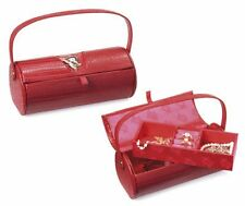 Betty Boop Jewellery Box Two-tier with Carry Handle - Red - New Boxed