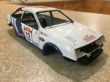 1/18 AUTOART FORD SIERRA COSWORTH 12 BODYSHELL LHD MODIFIED TUNING UMBAU DIORAMA