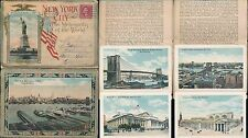 USA 1922 MULTI VIEW LETTERCARD NEW YORK 20 PICTURES