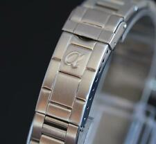 20mm Oyster, Diver, Submariner stainless steel bracelet band with alpha logo