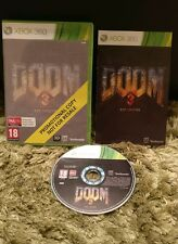 Doom 3 bfg edition promotional copy (full game) XBOX 360 très bon état utilisé