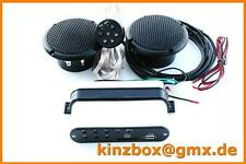 Radio + MP3 Stereoanlage Musik Sound ATV Motorrad Bike