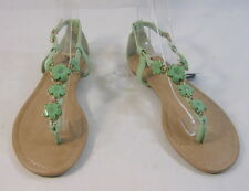 Summer NEW green/Turquoise  WOMEN SHOES ROMAN GLADIATOR SANDALS  SIZE  8