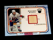 BRYAN TROTTIER 2002 FLEER LEGACY HOCKEY KINGS GAME USED STICK