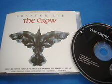 CD PROMO / THE CROW THE CURE RAGE AGAINST THE MACHINE HELMET STONE TEMPLE PILOTS