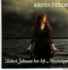 (836X) Krista Detor, Robert Johnson Has Left Mis- DJ CD