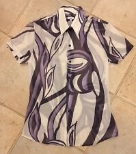 Man Genuine VJC Versace Cotton Silk Shirt Size S