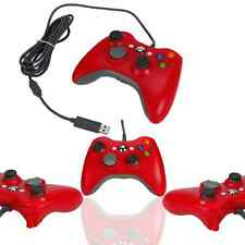 New Wired USB Game Pad Controller For Microsoft Xbox 360 Red Free Shipping