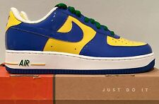 Authentic Nike Air Force 1 Premium low Brazil World Cup soccer 2006 release 9.5