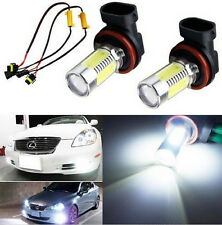 2x HID CREE H11 H8 H9 Q5 COB LED Bulbs Fog Lights + Canbus Decoders Error Free