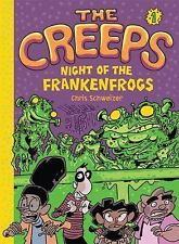 The Creeps: Book 1: Night of the Frankenfrogs  (ExLib)