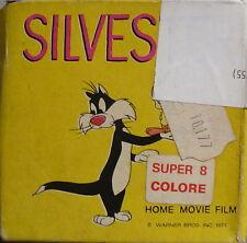 Super 8 colore - Silvester - Home movie film - W. Bros - 1971