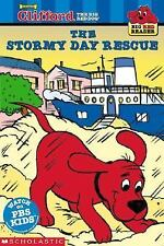 Kids new paperback gr K-2:Stormy Day Rescue-Clifford the Big Red Dog Reader-PBS