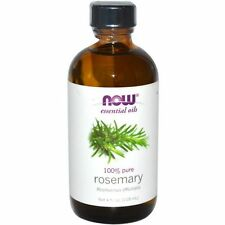 Rosemary Oil (100% Pure), 4 oz - NOW Foods Essential Oils