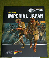 BOLT ACTION ARMIES OF IMPERIAL JAPAN Supplement World War Two wargames rules