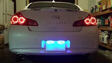 Blue LED License Plate Lights For Dodge Caliber 2007-2012 2008 2009 2010