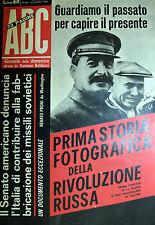 ABC N°45/ 5/NOV/1961* DUELLO di stilisti al SALONE di TORINO 61*