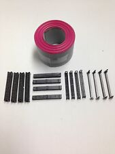 Flat Cable 40 Pin Wires Ribbon 50mm wide 6 Ft. Long with 4 sets IDC Connector