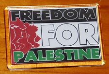 Freedom for Palestine Palestinian flag fridge magnet