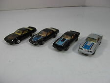 Yatming Maisto Pontiac Firebird Trans Am Lot of 4 1980 1982