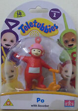 Teletubbies ~ Po With Scooter ~ Collectable 8 cm Figure