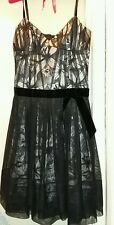 KAREN MILLEN BRAND NEW BLACK LACE DRESS SIZE 10