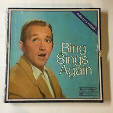 Bing Crosby – Bing Sings Again - RCA Custom – RD4-138 - 8 × Vinyl ex/vg+