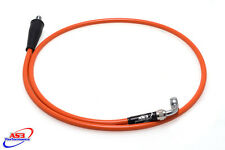 KTM 450 500 EXC XC-W SMR AS3 VENHILL BRAIDED CLUTCH LINE HOSE ORANGE
