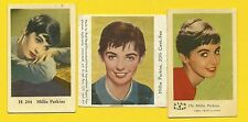 Millie Perkins Fab Card Collection Movie Actress The Diary of Anne Frank 1959