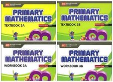 Primary Mathematics Grade 3 Kit (Common Core ED)-Workbooks 3A+3B,Textbooks 3A+3B