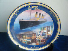 """""""First Class Stateroom"""" 7th Issue Titanic: Queen of the Ocean Collector Plate"""