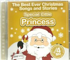 SPECIAL LITTLE PRINCESS THE BEST EVER CHRISTMAS SONGS & STORIES PERSONALISED CD